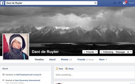 Dani de Ruyter Facebook