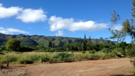 Camp Mokuleia 10 Acre Design 2014 Parking Lot View