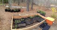 Cold Frame Seeding-Punkhorn Farm, MA (may 2014)